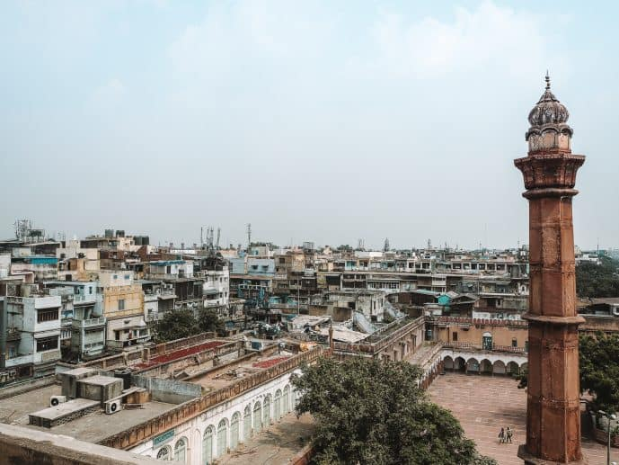 Old Delhi Spice Market Rooftop Instagrammable Places in Delhi