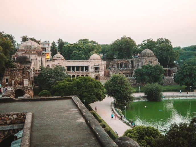 Hauz Khas Fort Delhi