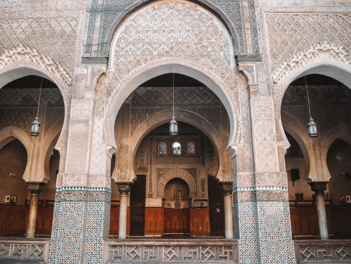 Bou Inania Madrasa | Instagrammable places in Fes Photography Morocco