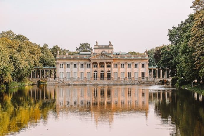 Palace on the Isle Warsaw