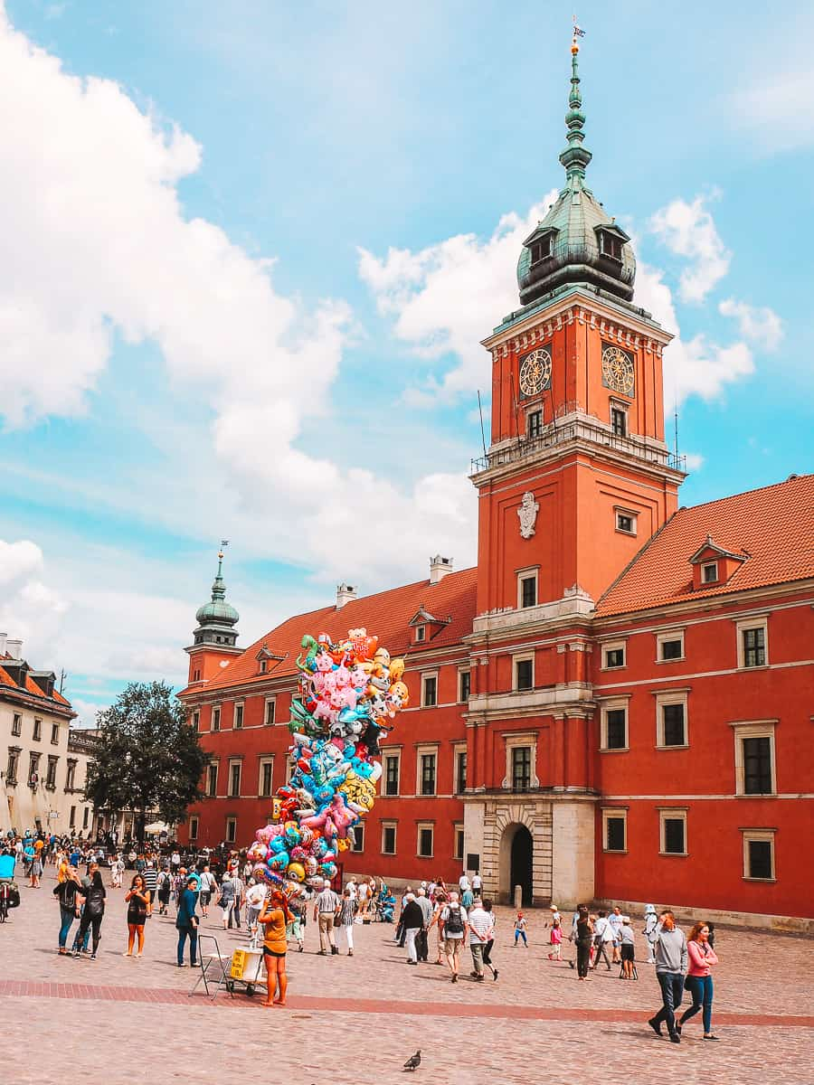 Warsaw Royal Castle Most Instagrammable Places in Warsaw