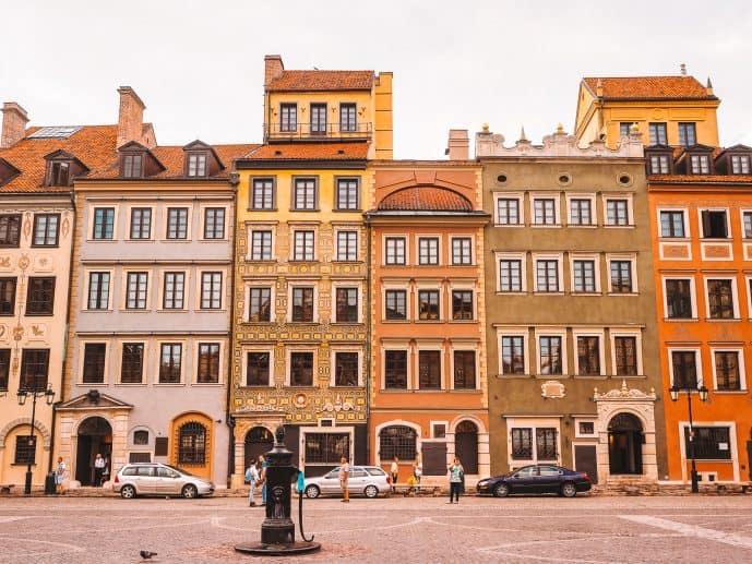 Warsaw Old Market Square