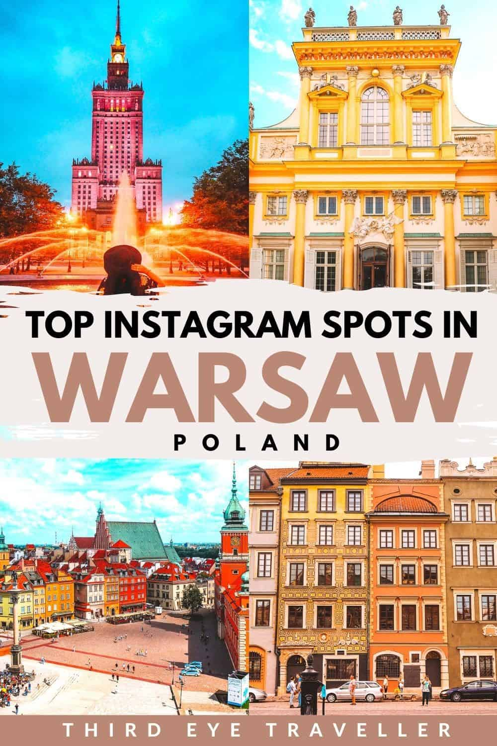Instagrammable places in Warsaw Photography guide