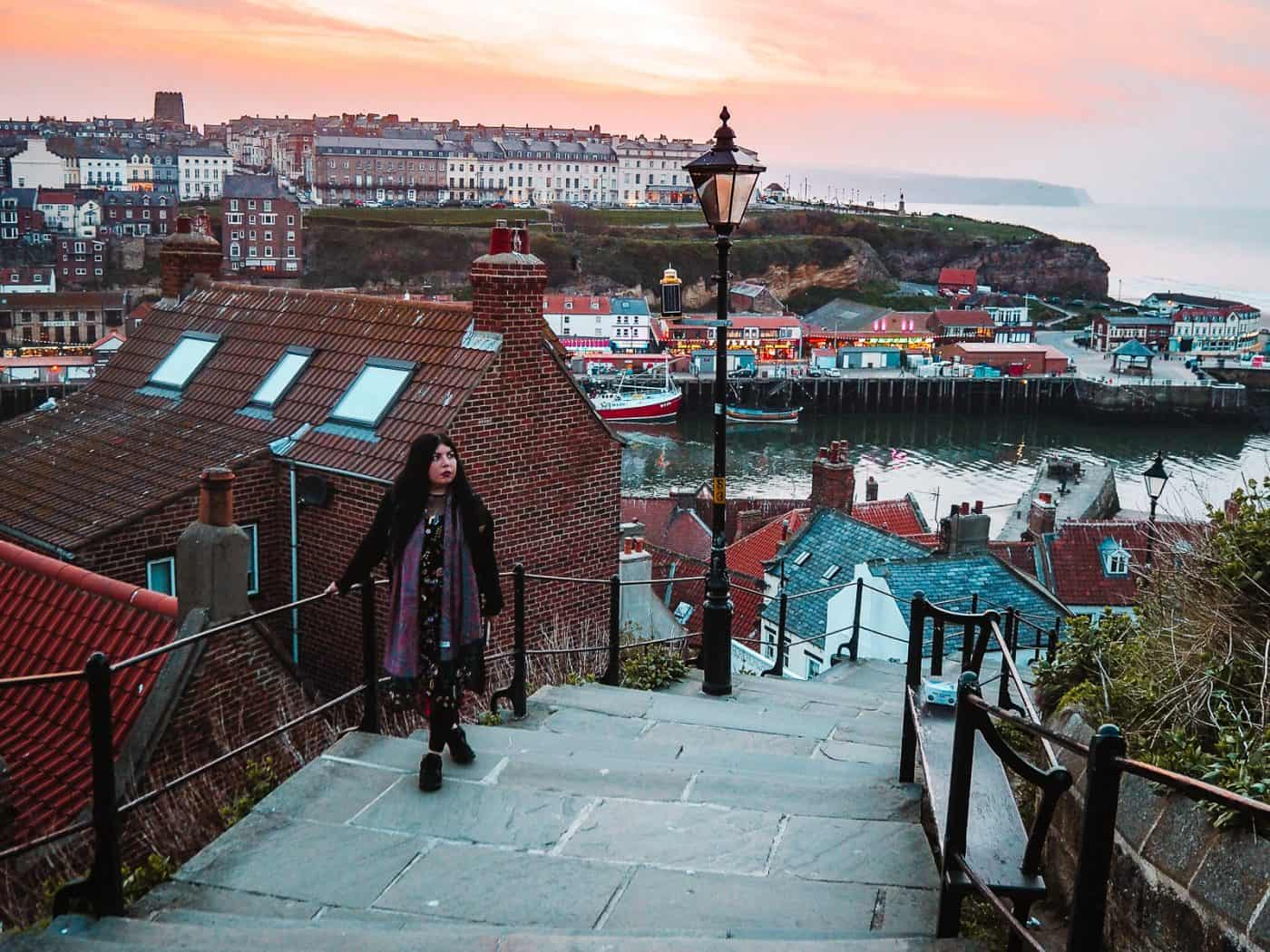 199 steps Whitby - instagrammable places in Whitby photography spots