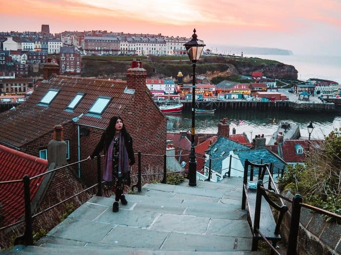 199 steps - instagrammable places in Whitby photography spots