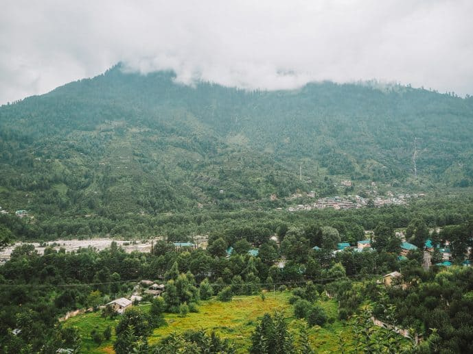 Manali in Monsoon Rains