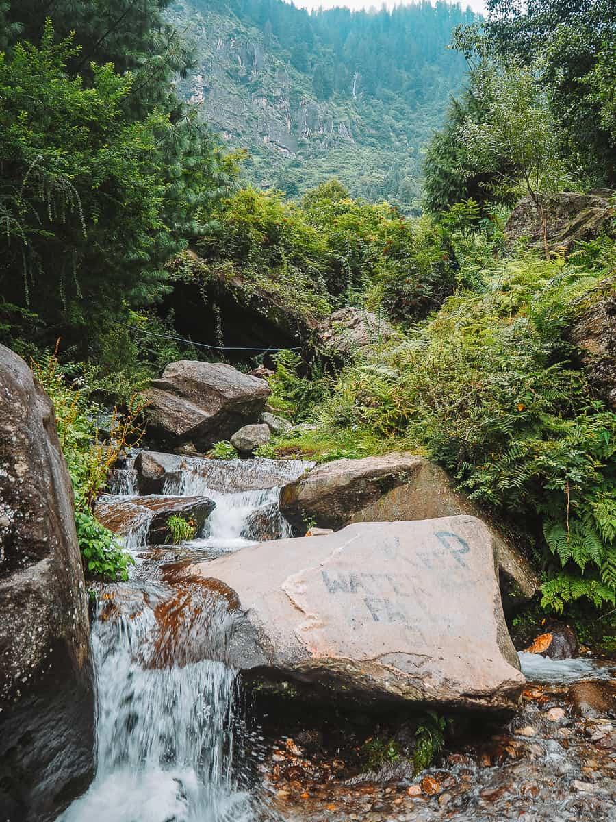 Jogini Falls Trek Manali