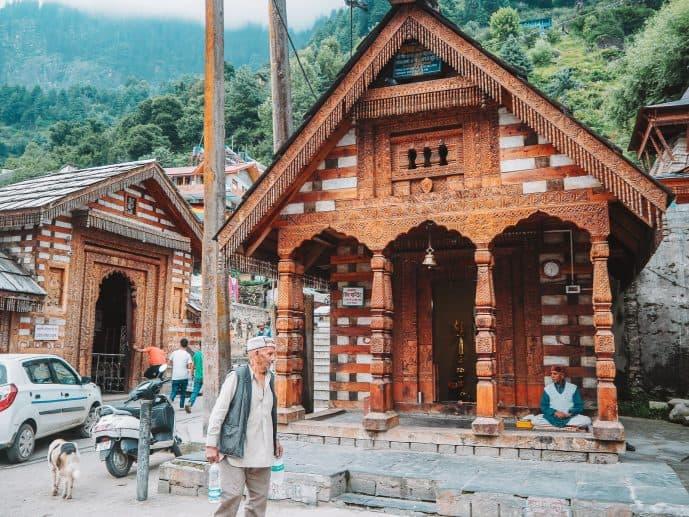 Vashisht Temple complex Manali
