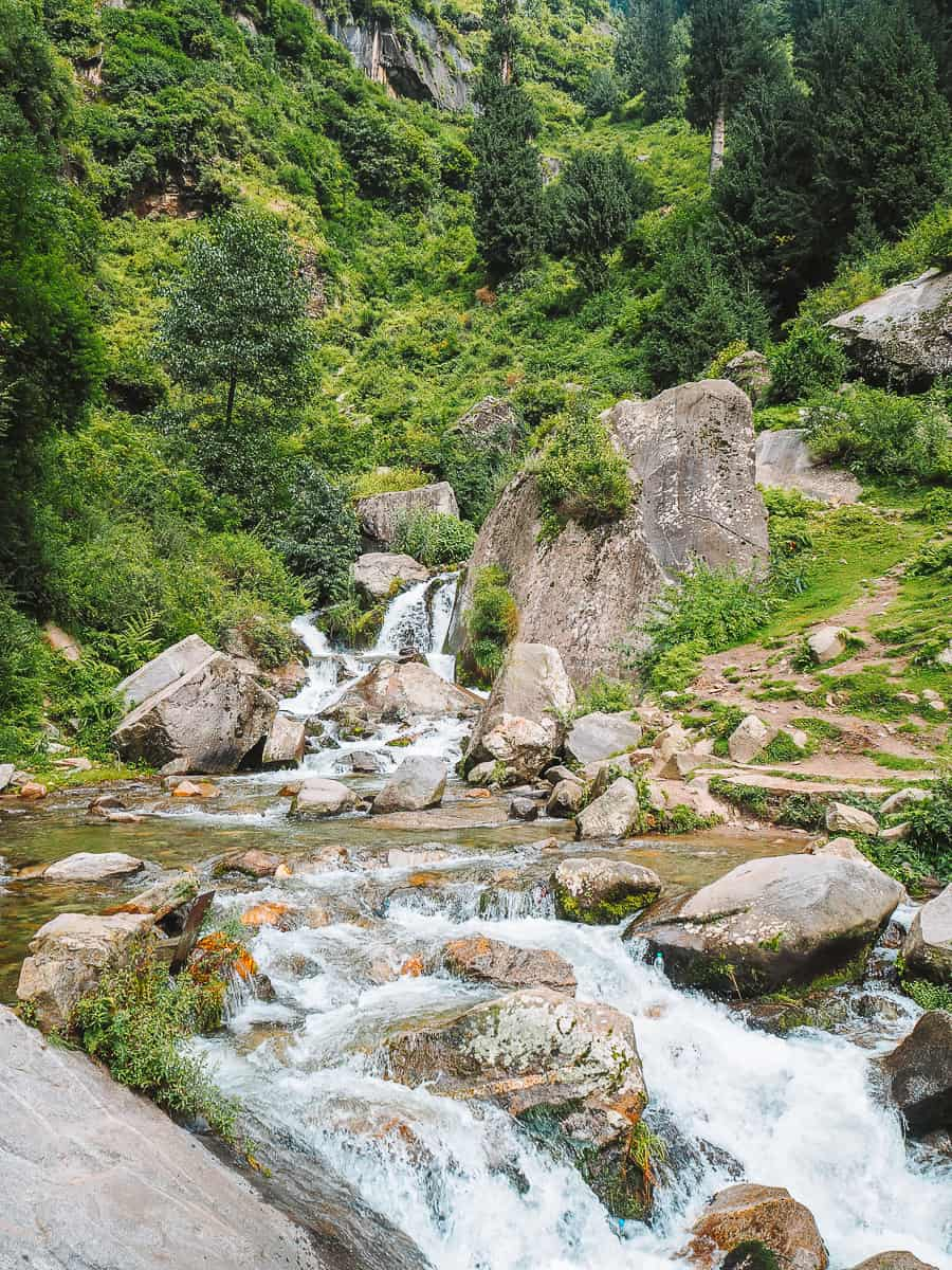 Bottom of Jogini Falls