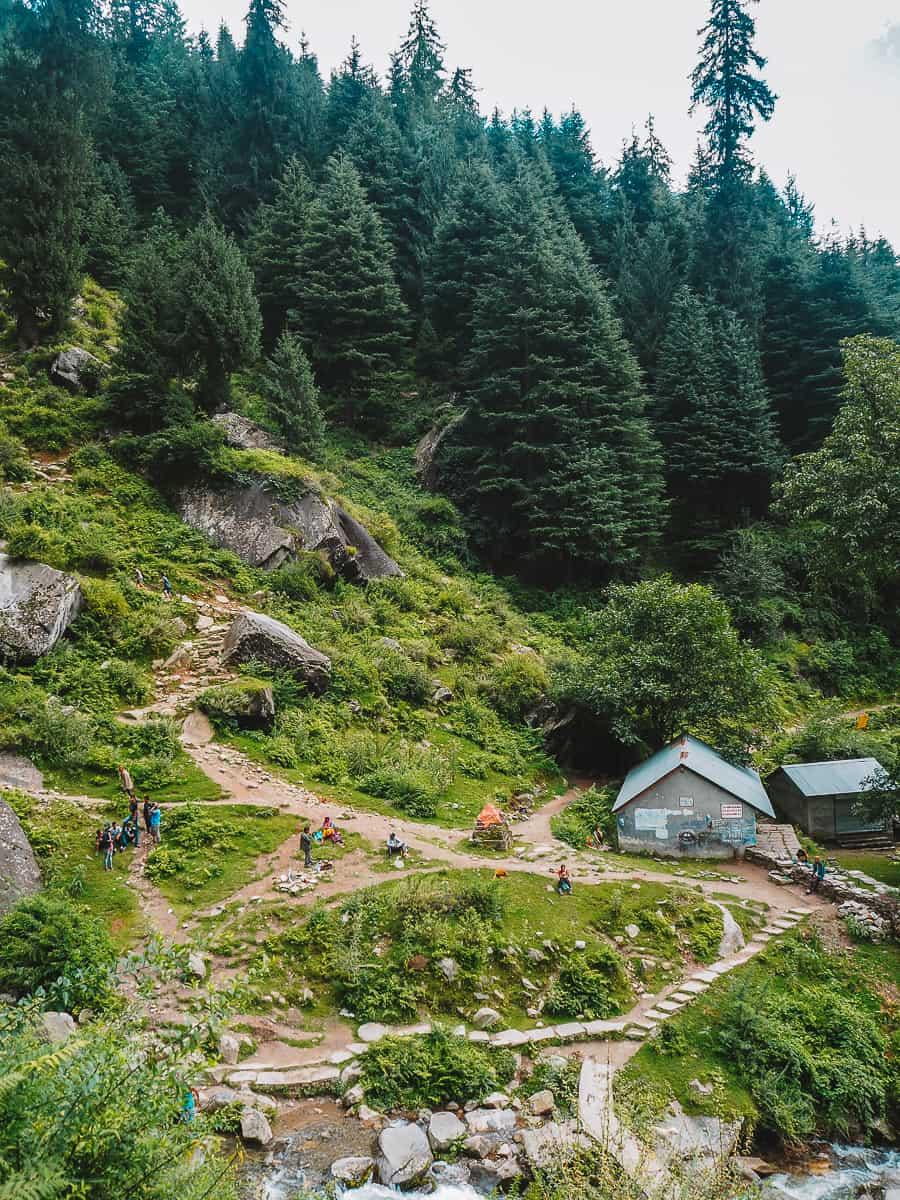 Jogini Waterfall Hike Manali