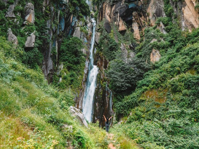 Jogini Falls Manali Trek Vashisht
