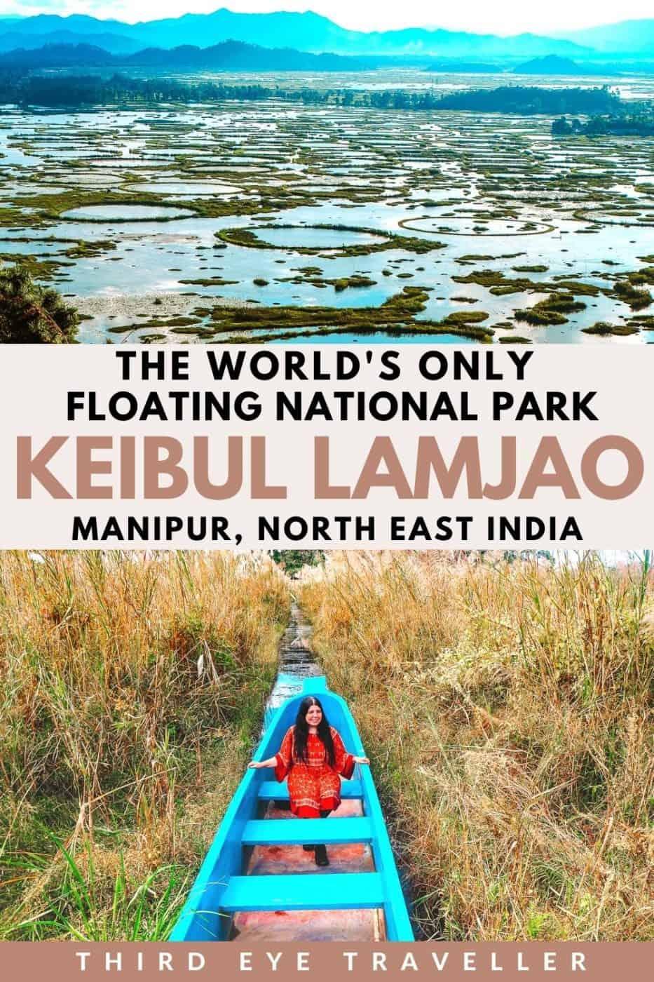 Keibul Lamjao National Park world's only floating National Park Manipur