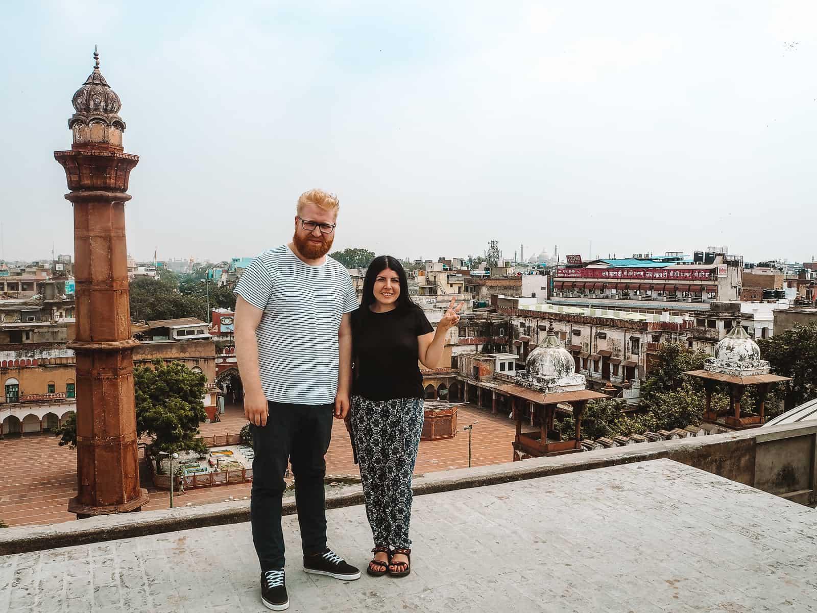 Khari Baoli Old Delhi Spice Market Rooftop