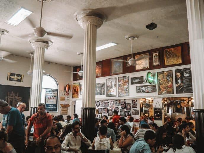 Shantaram Leopold Cafe Mumbai Bombay