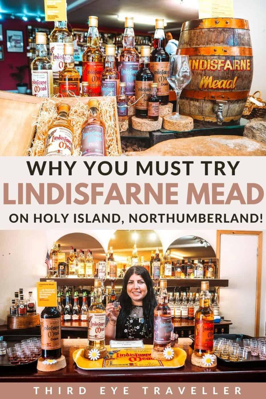 Lindisfarne Mead St Aidans Winery Holy Island Northumberland