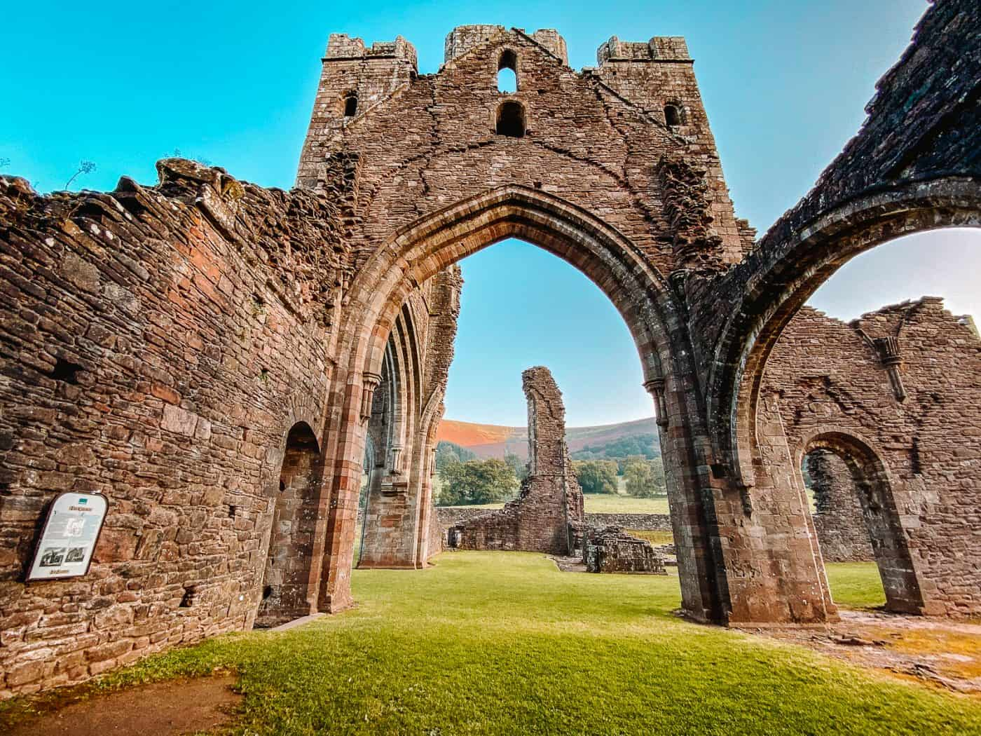 Llanthony Priory Brecon Beacons Wales
