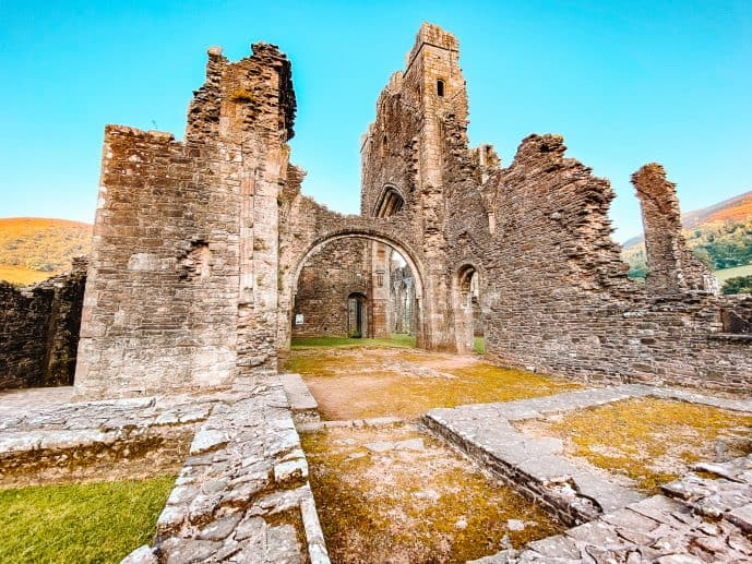 Llanthony Priory Wales Brecon Beacons