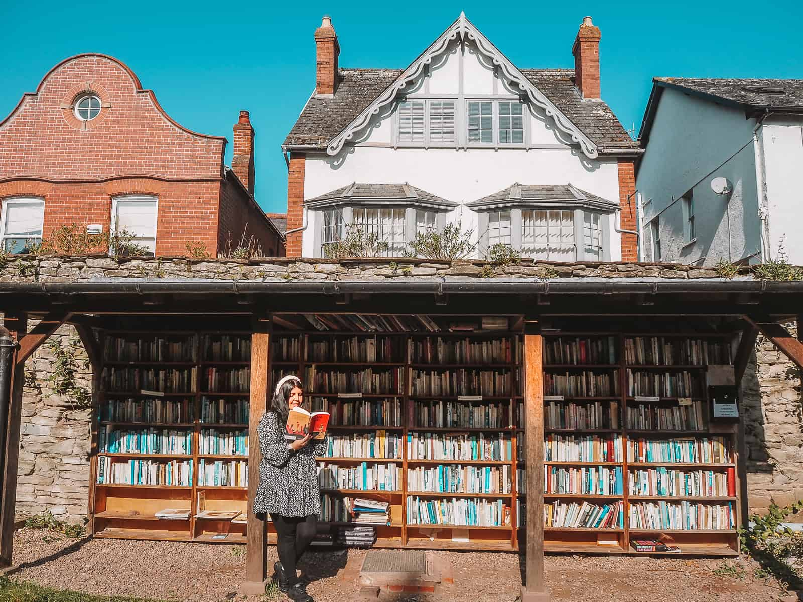 Honesty Hay Castle Bookshop The book town of Hay-on-Wye Brecon Beacons