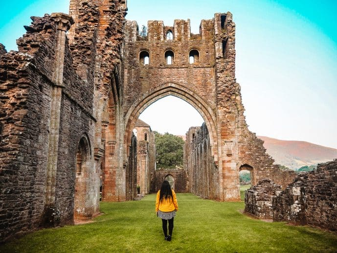 Llanthony Priory Ruins Wales