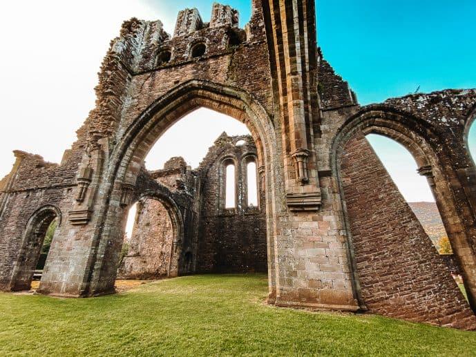 Llanthony Abbey Wales