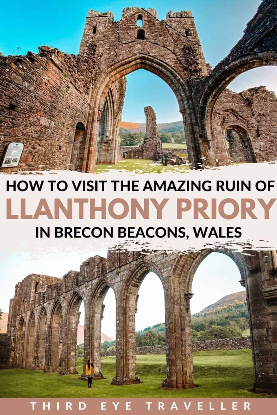How to visit Llanthony Priory Brecon Beacons Wales