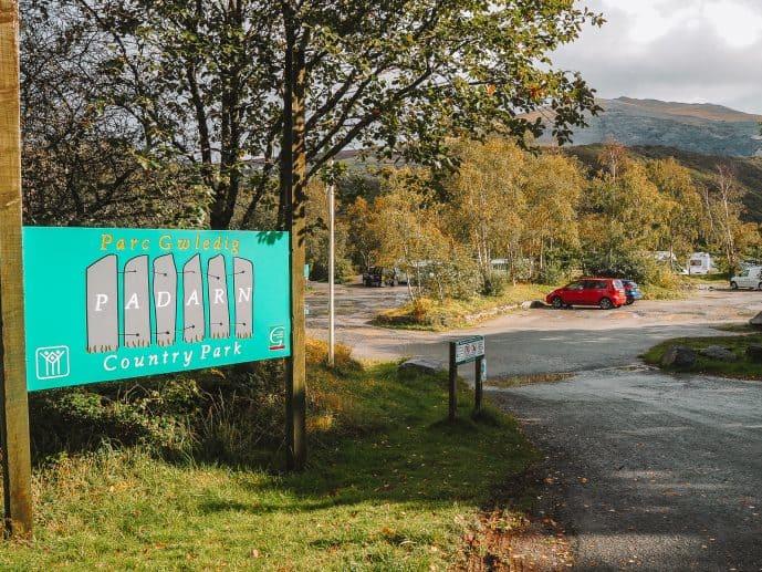 Padarn Country Park Car Park Llanberis