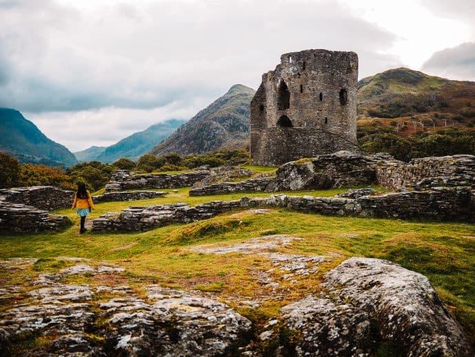 Dolbadarn Castle Llanberis Snowdonia