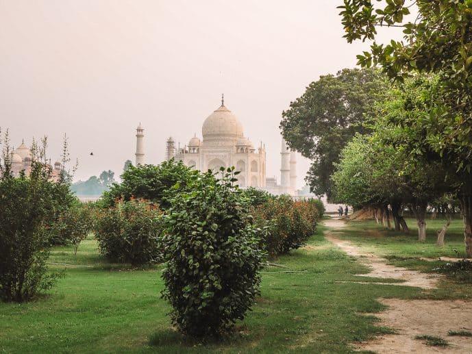 Mehtab Bagh Moonlight Gardens Agra