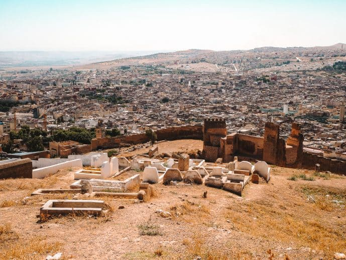 Marinid Tombs Viewpoint in Fes