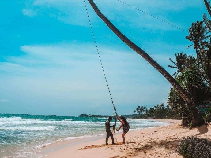 Dalawella Beach Swing