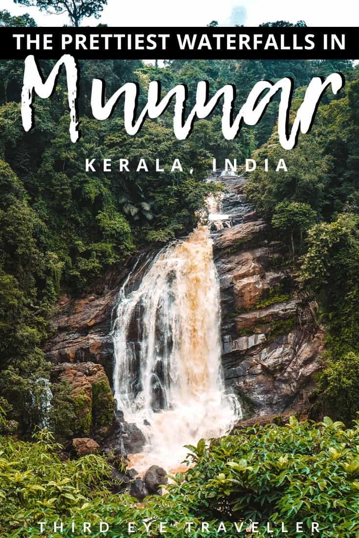 Best waterfalls in Munnar