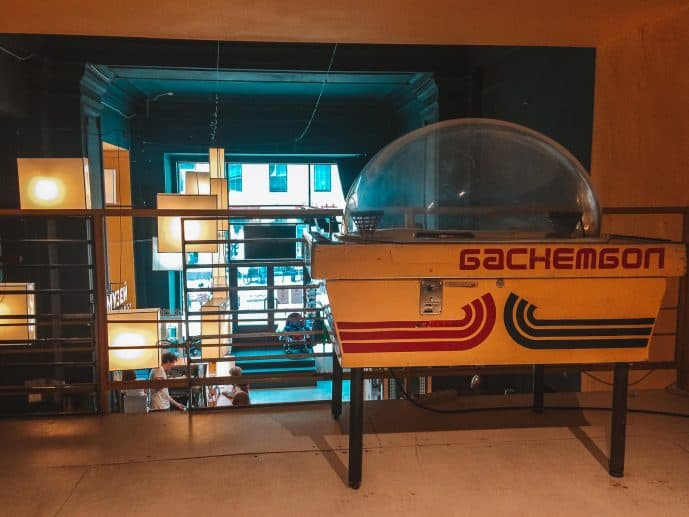 Soviet Arcade Museum in Moscow Russia