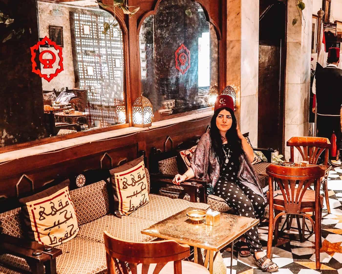 Naguib Mahfouz Cafe Khan el Khalili Restaurant Cairo