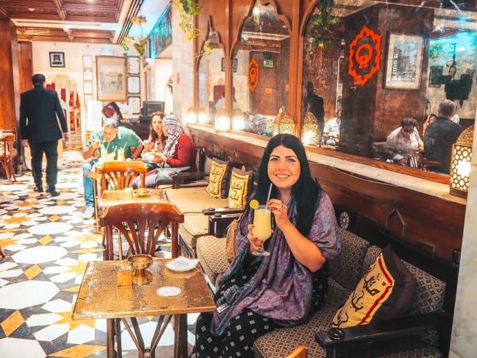 Naguib Mahfouz Cafe Cairo