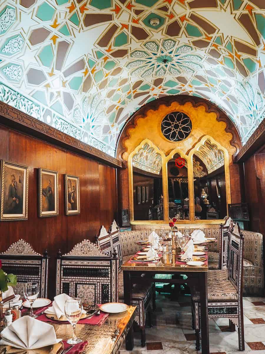 Khan el Khalili Restaurant Cairo
