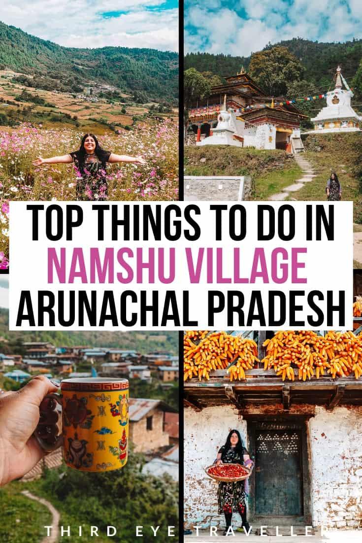 Namshu village travel guide