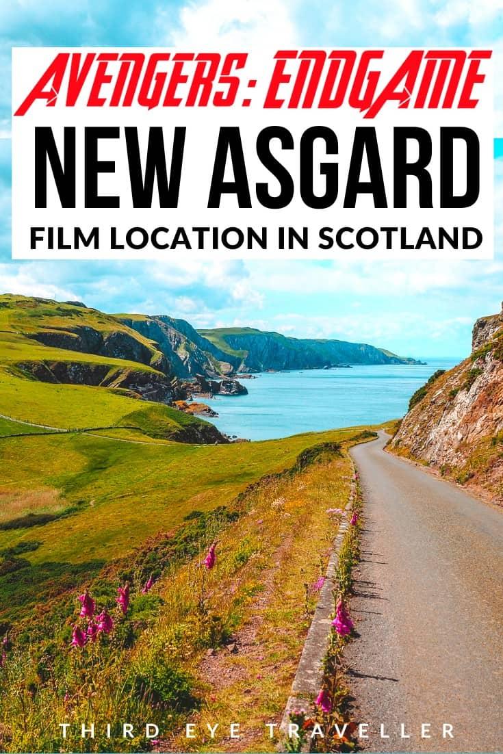 Avengers New Asgard Location St Abbs scotland