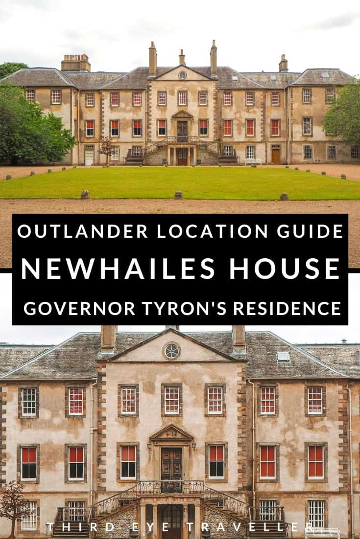 Newhailes House Outlander location Governor Tyron's residence