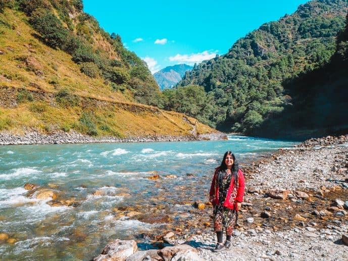 Jang Valley Arunachal Pradesh Tawang Chu River