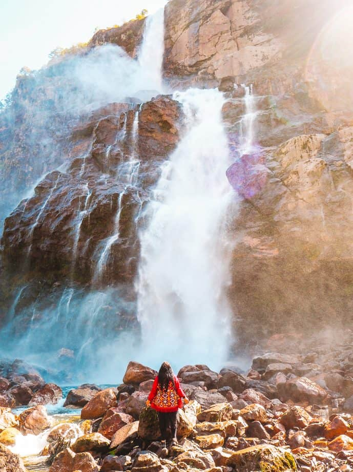 Jang Falls Bong Bong Falls Arunachal Pradesh