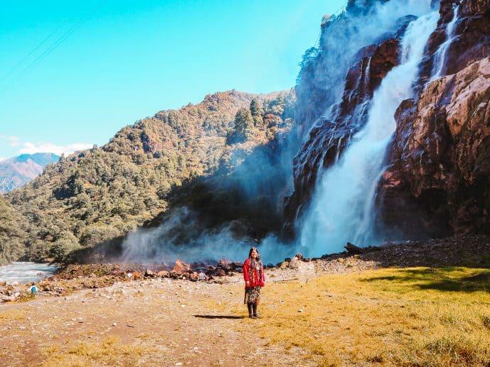 Nuranang Falls Tawang Arunachal Pradesh