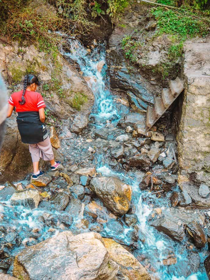 Hike down to Nuranang Falls in Arunachal Pradesh