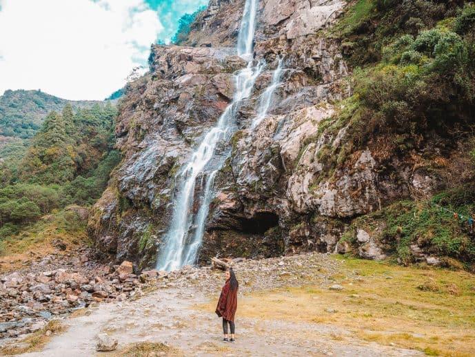 Jang Falls Arunachal Pradesh in Tawang District