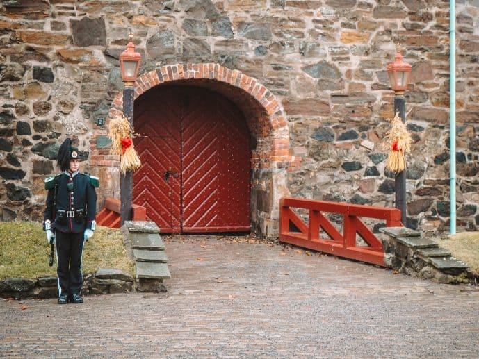 The Royal Guard at Akershus Fortress