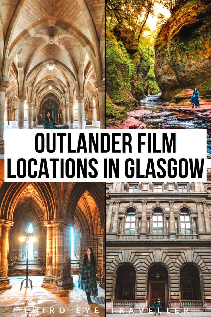 Outlander locations in Glasgow Scotland