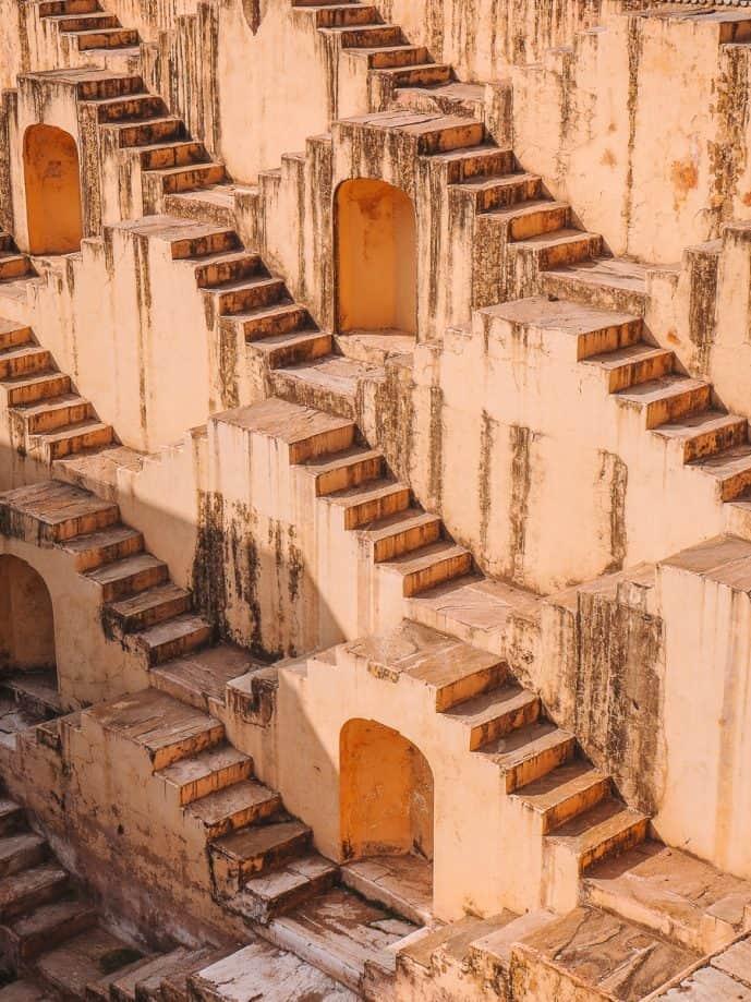 Panna Meena Ka Kund Jaipur Stepwell