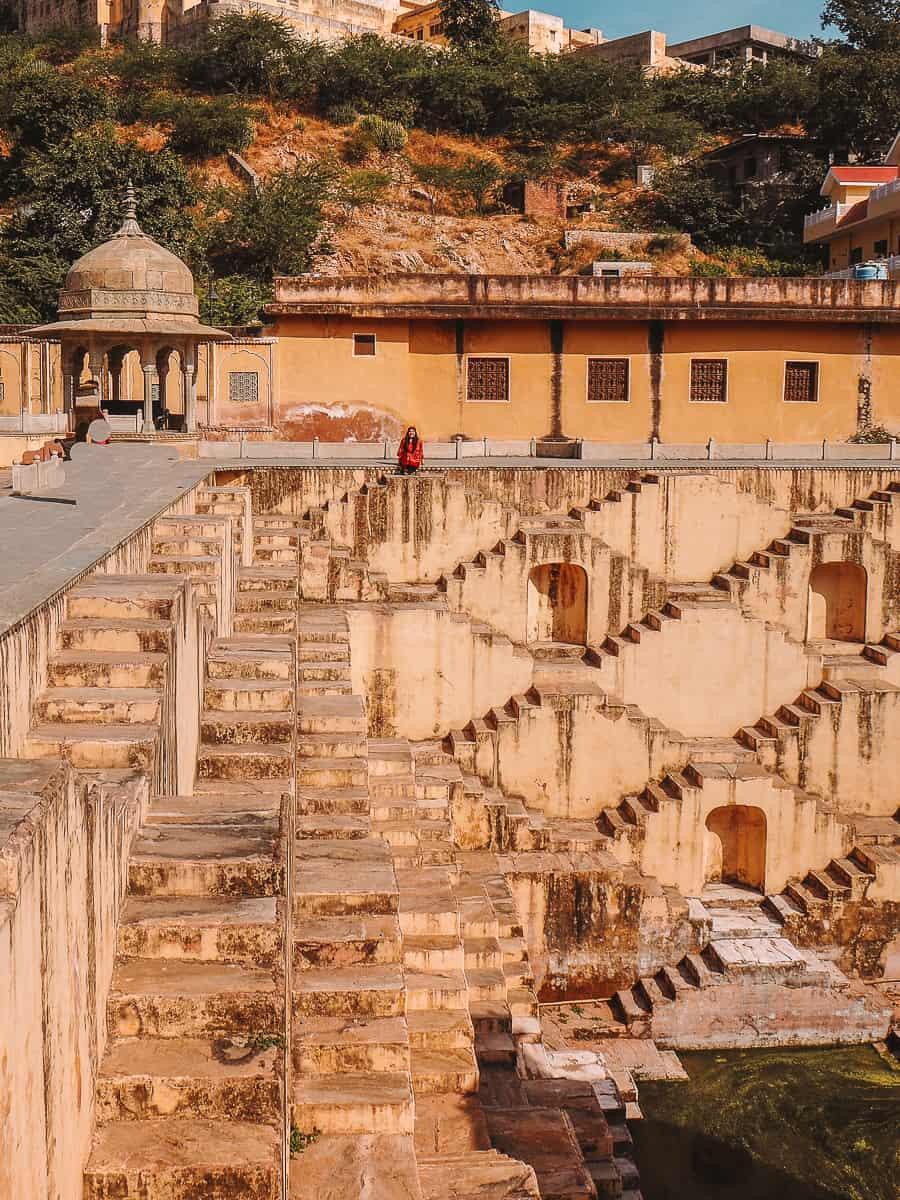 Panna Meena Ka Kund Stepwell Jaipur