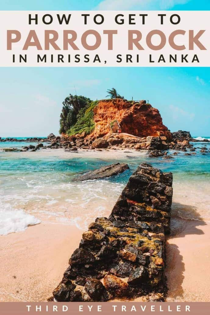 Parrot Rock Mirissa Sri Lanka
