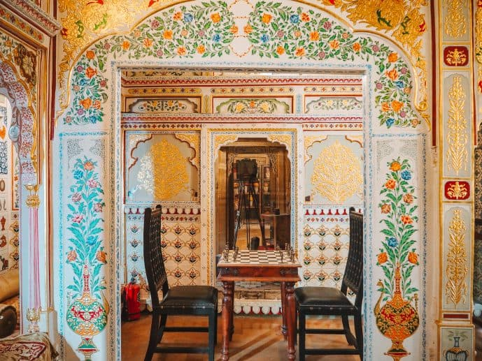 Kothari's Patwa Haveli museum chess