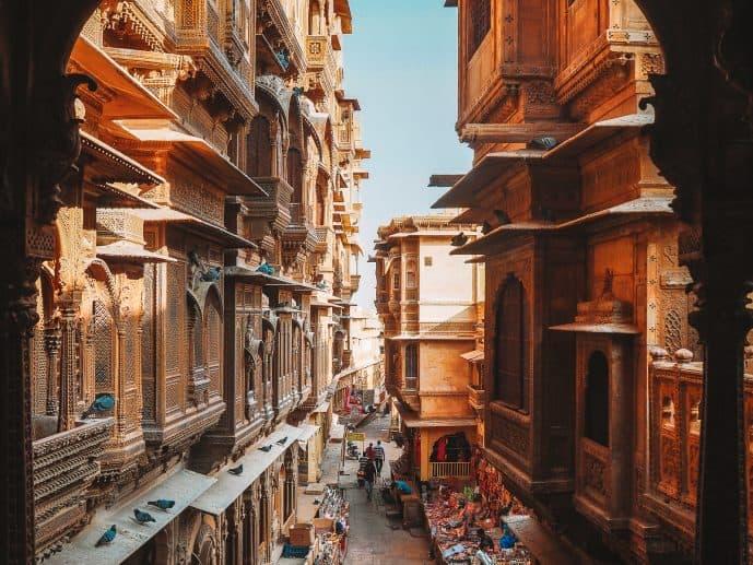 Patwon Ki Haveli Kothari's Patwa Haveli museum Jaisalmer